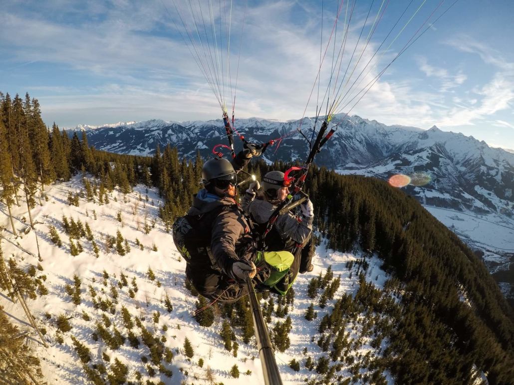 Paragliding Zell am See in Austria