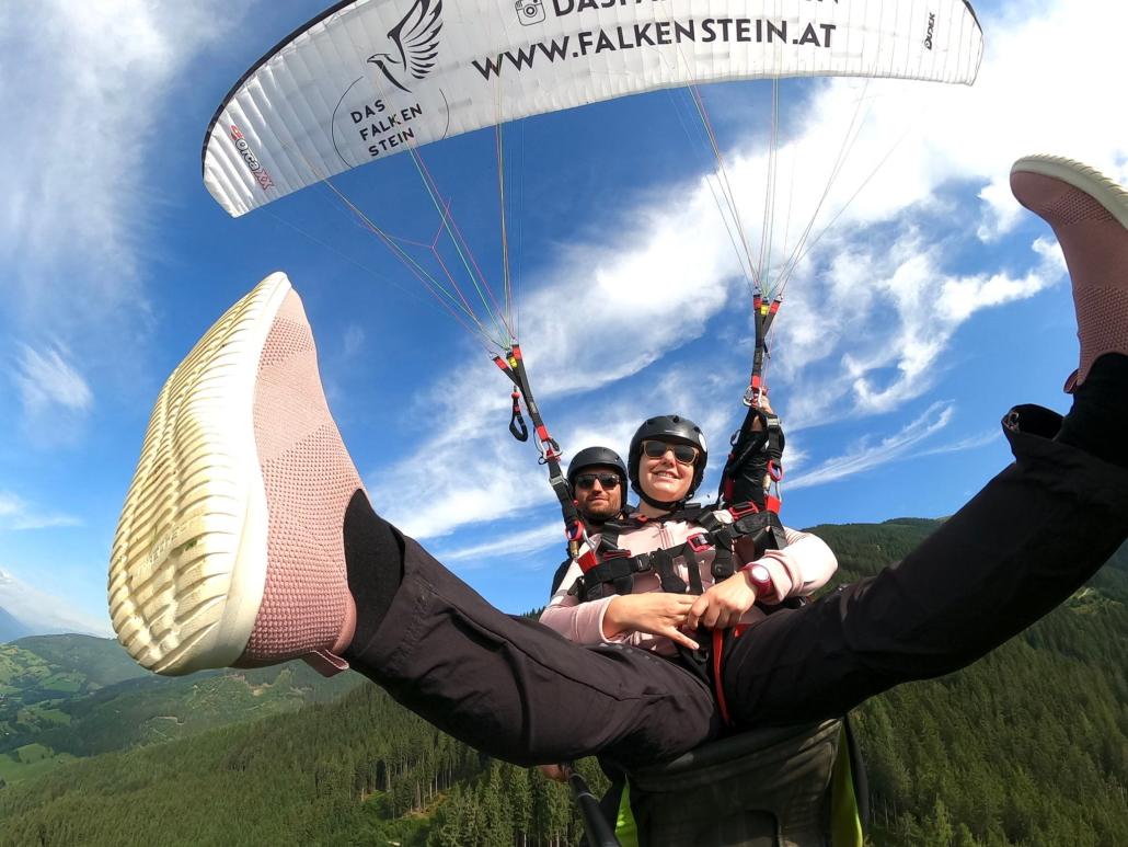 Paragliding Zell am See-Kaprun mit Falken Air